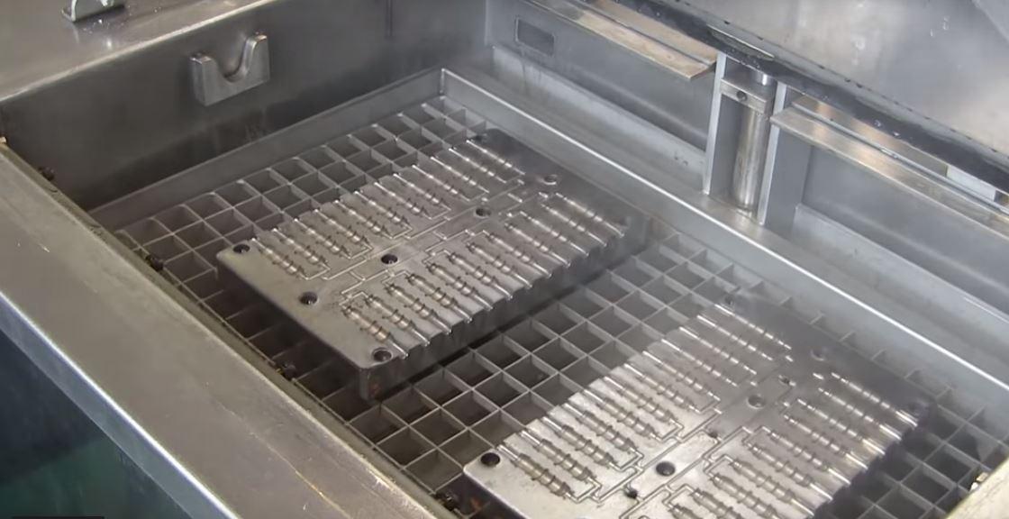 limpieza molde inyección