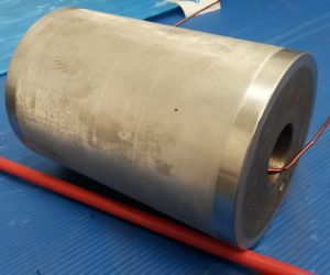 printing roller before