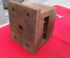 plastic injection mold before