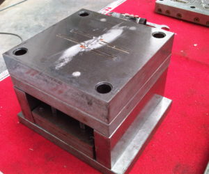 plastic injection mold after