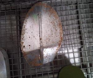 shoe aluminum mold before