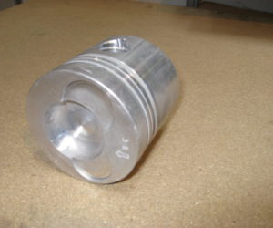 piston after