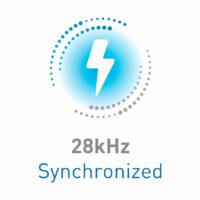 28khz synchronized