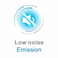 low noise emission